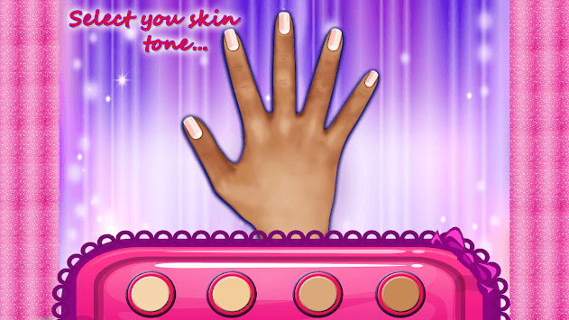 Nail Art Makeover Manicure Girl's Game pc screenshot 2
