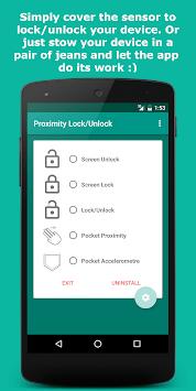 Proximity Lock/Unlock pc screenshot 1