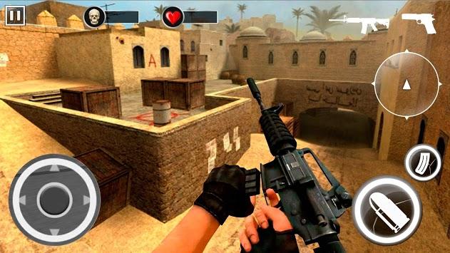 Desert Critical Black Ops - Brave Soldier FPS pc screenshot 1