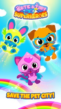 Cute & Tiny Superheroes - Brave Pets to the Rescue pc screenshot 1