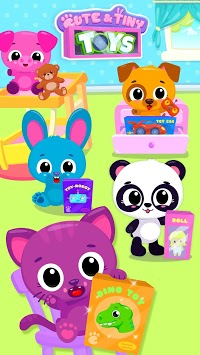 Cute & Tiny Toys - Doll, Dino, Car, Bear & Robot pc screenshot 2
