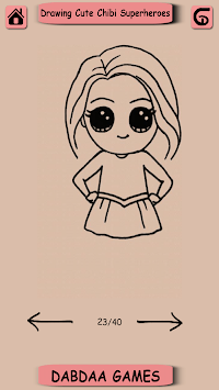 Drawing Cute Chibi Super Heroes pc screenshot 2