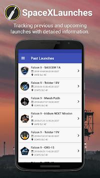 SpaceXLaunches pc screenshot 1