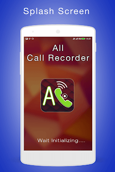 All Call Recorder pc screenshot 1