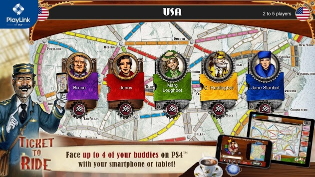 Ticket to Ride for PlayLink pc screenshot 1