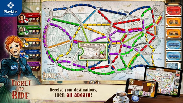 Ticket to Ride for PlayLink pc screenshot 2