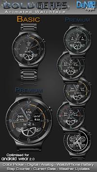 Bold Gears HD Watch Face Widget & Live Wallpaper pc screenshot 1