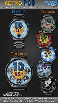 Retro Pop HD Watch Face Widget & Live Wallpaper pc screenshot 1