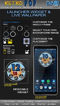 Retro Pop HD Watch Face Widget & Live Wallpaper pc screenshot 2