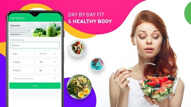 Diet Tracker, Plan to weight loss, Calorie Control pc screenshot 1