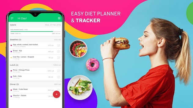 Diet Tracker, Plan to weight loss, Calorie Control pc screenshot 2