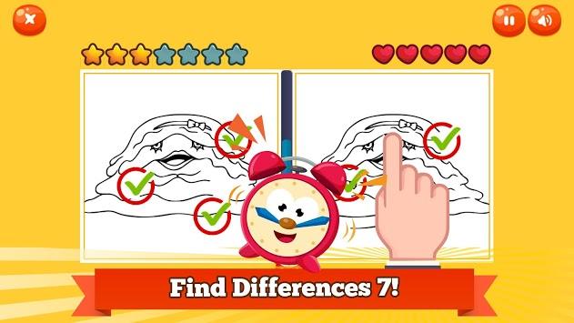 Find Differences 7 Yokai Photo pc screenshot 2