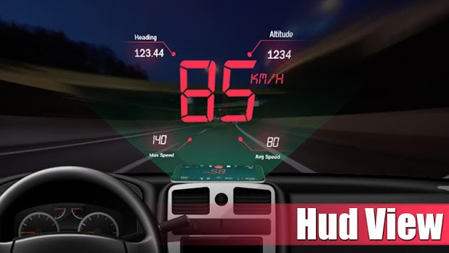 Digital Speedometer - GPS Odometer app offline HUD pc screenshot 2