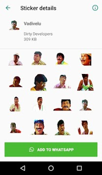 Tamil Stickers for WhatsApp (WAStickerApp) pc screenshot 1