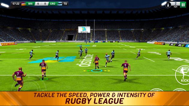 Rugby League 18 pc screenshot 1