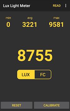 💡 Lux Light Meter Free pc screenshot 1