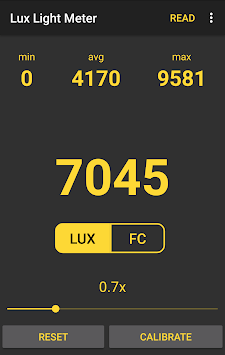 💡 Lux Light Meter Free pc screenshot 2