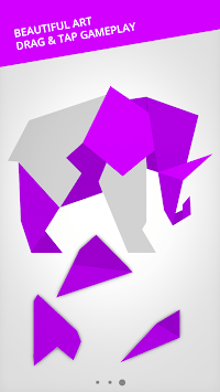 Cardinal Land - Jigsaw & Tangram Puzzle Blend pc screenshot 1