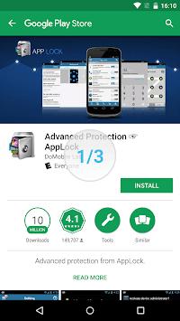 Advanced Protection ☞ AppLock pc screenshot 1