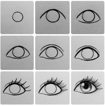 realistic eye drawing tutorial pc screenshot 2