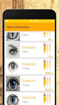 How to Draw Eyes pc screenshot 1