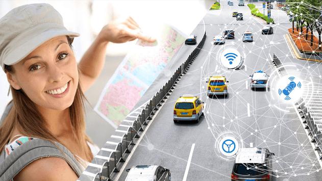 Driving Maps Navigator & Traffic Alerts pc screenshot 1
