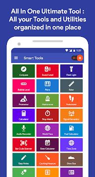 Smart Tools : Compass, Calculator, Ruler, Bar Code pc screenshot 1