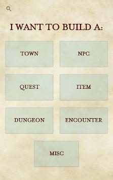 RPG Generator pc screenshot 1