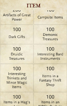 RPG Generator pc screenshot 2