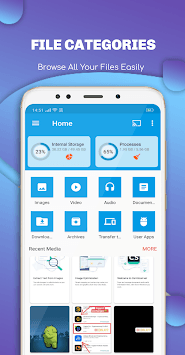EX File Explorer File Manager for Android pc screenshot 1