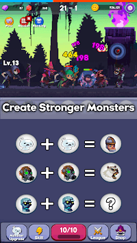 Merge Mon - Idle Puzzle RPG pc screenshot 1