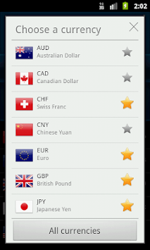 Easy Currency Converter pc screenshot 2