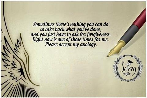 Apologize Quotes Images pc screenshot 1