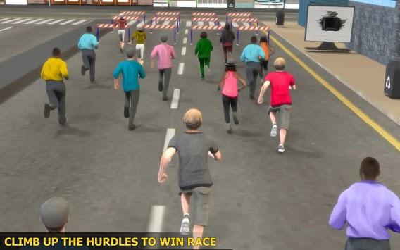 Marathon Race Simulator 3D: Running Game pc screenshot 1