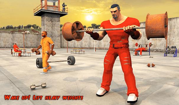 Prison Workout Gym 3D: Jail House Equipment pc screenshot 1