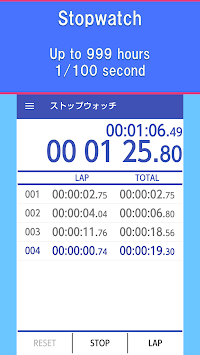 Multi Timer - Stopwatch Timer pc screenshot 1
