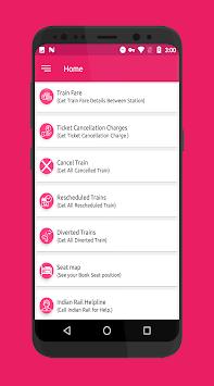 IRCTC Ticket PNR Check Seat Availability Enquiry pc screenshot 1