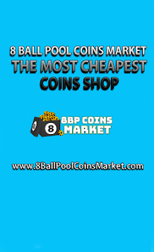 Eight Ball Pool Coins Market- Buy 8Ball Pool Coins pc screenshot 1