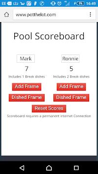 8 Ball Pool - Break Dish Scoreboard pc screenshot 1