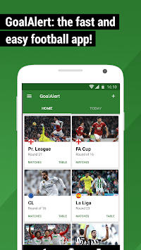 GoalAlert Football Live Scores Fixtures Results pc screenshot 1