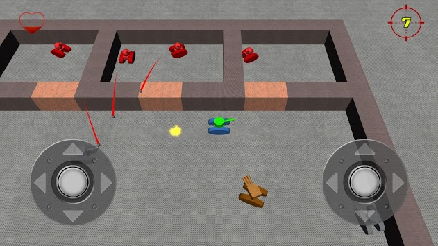 Micro Tanks 3D pc screenshot 1