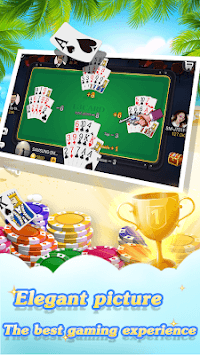 Chinese poker - Pusoy, Capsa susun, Free 13 poker pc screenshot 2