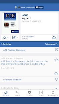 JOE: Journal of Endodontics pc screenshot 1