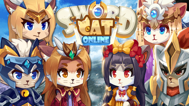 Sword Cat Online - Anime Cat MMO Action RPG pc screenshot 1
