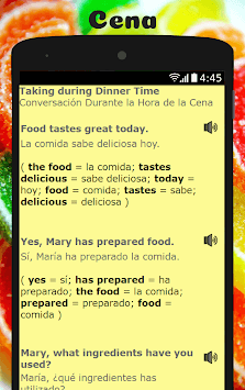 Spanish to English Lesson: Aprende Inglés Hablando pc screenshot 1