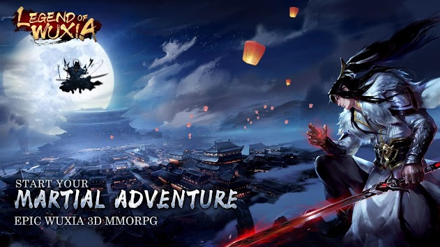 Legend of Wuxia: 3D MMORPG - ASIAN pc screenshot 1