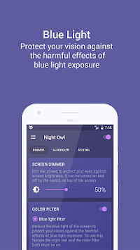 Night Owl - Screen Dimmer & Night Mode pc screenshot 2