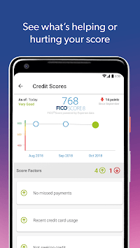 Experian - Free Credit Report & FICO Score pc screenshot 1