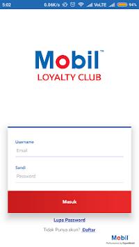 Mobil Loyalty Club pc screenshot 1