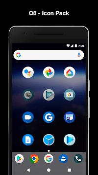 O8 - Android Oreo 8.0 Icon Pack pc screenshot 1